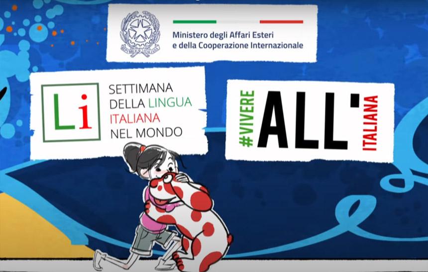 Settimana della Lingua Italiana nel mondo, la XX edizione.