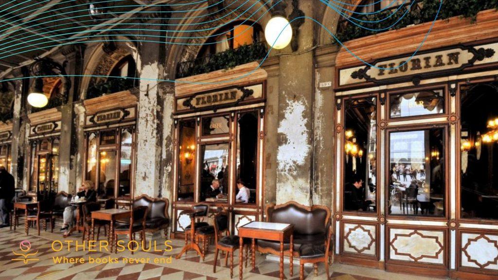 Francobollo celebrativo per le300candeline del Caffè Florian