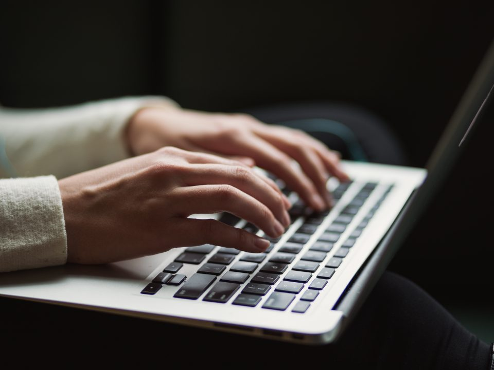 scrittura creative, computer